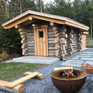 Gartensauna & Außensauna kaufen | Sauna Wellness Kontor