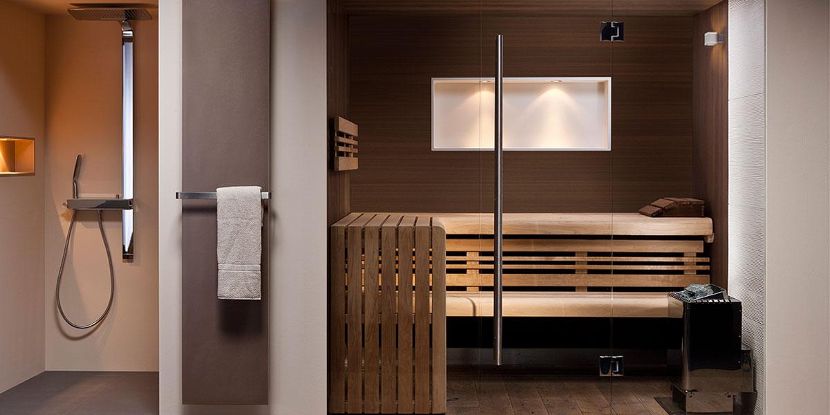 wellness badezimmer mit sauna bild von traumhaus design
