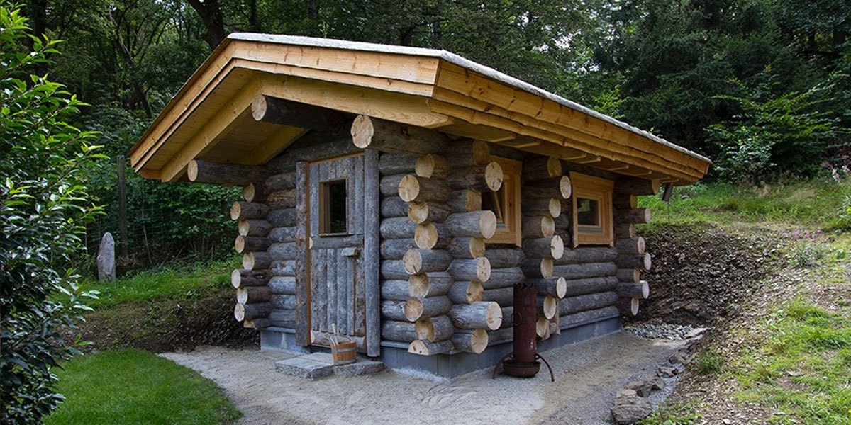 kelo sauna f r den garten kaufen sauna wellness kontor. Black Bedroom Furniture Sets. Home Design Ideas